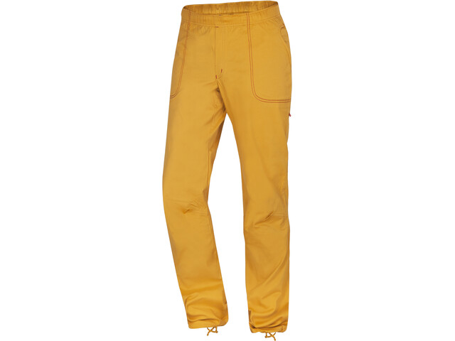Ocun Jaws Pantalones Hombre, golden yellow